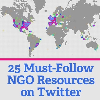 25 Must-Follow NGO Resources on Twitter | Social Media Content Curator | Scoop.it
