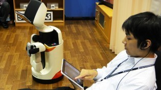 Toyota Partner Robot provides everyday assistance for people with disabilities - DigInfo TV   Artificial Intelligence and Robotics   Scoop.it