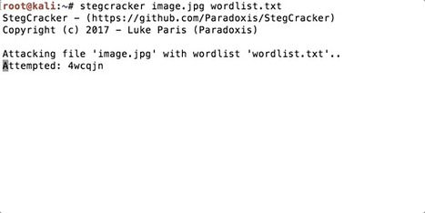 StegCracker | d@n3n | Scoop it