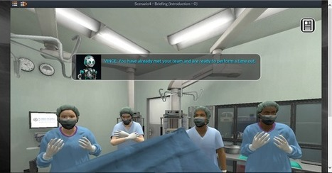 Free Serious Game For Robotic Surgery Team Standard Training | Games, gaming and gamification in Higher Education | Scoop.it