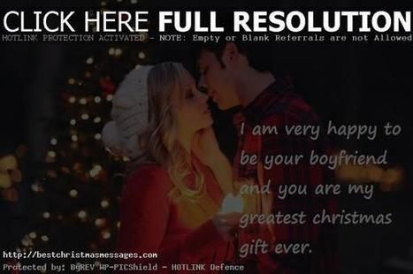 Merry Christmas Love Messages For Girlfriend W