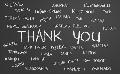 "The Power Of A Verbal ""Thank You"" 
