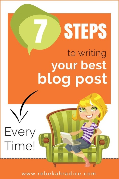 """7 Steps to Writing Your Best Blog Post Every Time 
