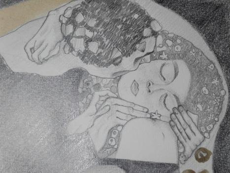 dilettarte: Il bacio di Klimt: non quello originale ! Ma è bello lo stesso | arte e ozio | Scoop.it