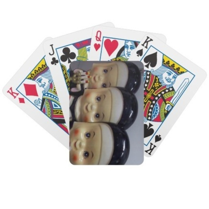 Pray For Luck Poker Cards With Kitschy Retro Nuns | Kitsch | Scoop.it