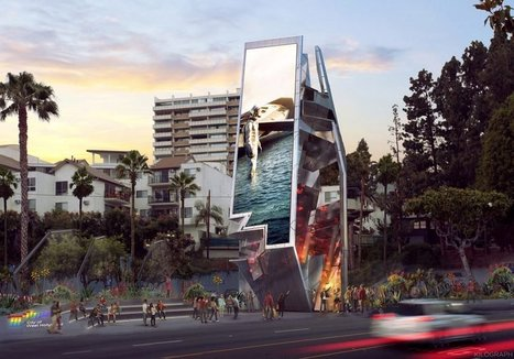 Futuristic digital billboard to be erected in Hollywood | Inspired By Design | Scoop.it