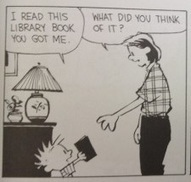 Why Calvin doesn't want to read good books | From The Pews' Puter... | Scoop.it