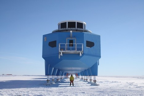 Architecture in Antarctica - Interview with Hugh Broughton About his Design on the South Pole | Extreme Architecture | News, E-learning, Architecture of the future at news.arcilook.com | Architecture e-learning | Scoop.it