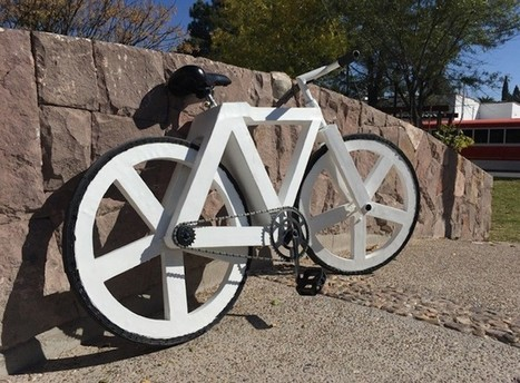 Urban GC1, una bicleta creada a partir de papel y otros materiales reciclados   Educacion, ecologia y TIC   Scoop.it