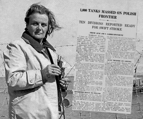 Elle avait annoncé l'invasion de la Pologne: Clare Hollingworth est décédée | DocPresseESJ | Scoop.it