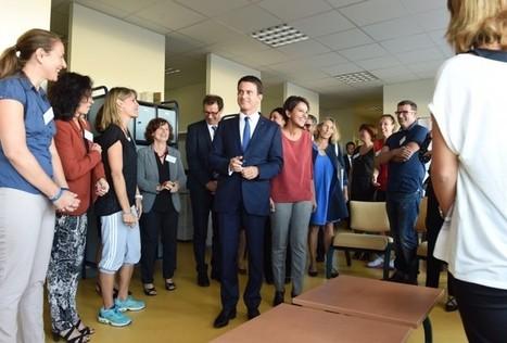 Avec le Premier ministre au Collège Jean