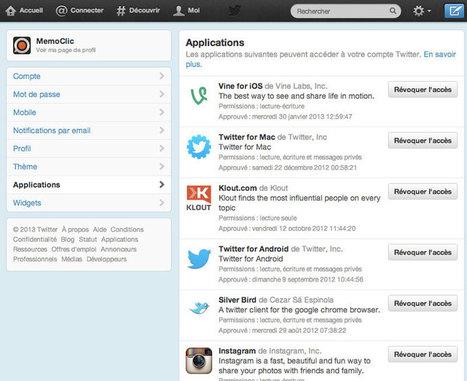 Comment améliorer la sécurité de votre compte Twitter ?   Machines Pensantes   Scoop.it