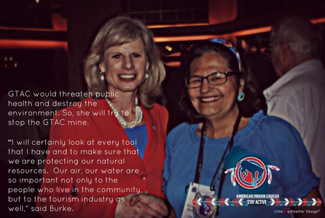 @Burke4WI Says If Elected, She'll Try To Stop GTAC Mine - Honor #Ojibwe #Treaties July 4th Wknd Visit? | IDLE NO MORE WISCONSIN | Scoop.it