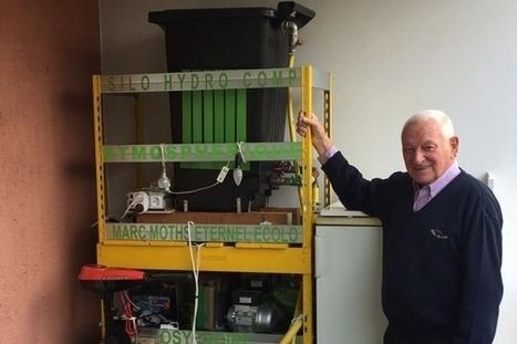 Marc Moths Eternel Ecolo : produire de l'électricité sur son balcon avec de l'eau | CaféAnimé | Scoop.it