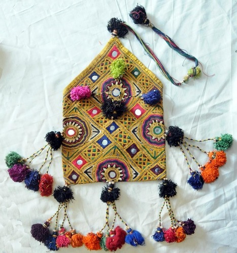 Vintage Sindhi Dowry Bag Handicrafts Scoop