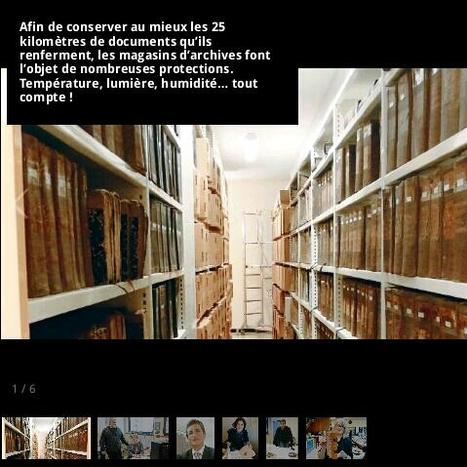 Entrez dans les coulisses des archives de la Manche | La Manche Libre | Nos Racines | Scoop.it