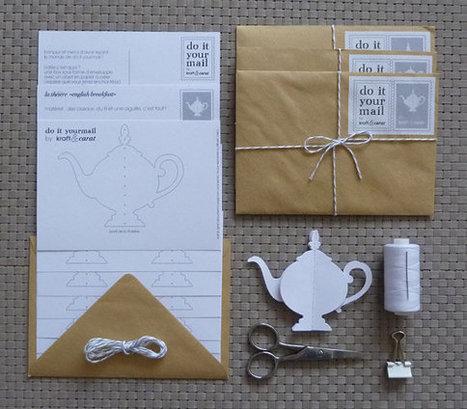 { Today I ♥ } Les théières en papier à créer soi-même | décoration & déco | Scoop.it