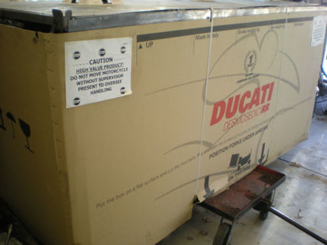 Rare SportBikes For Sale on eBay | Ducati In A Box: 2008 Ducati Desmosedici D16RR | Ductalk Ducati News | Scoop.it
