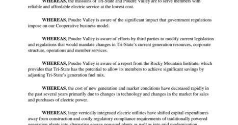 September 19 2018 PVREA Board Resolution on Tri