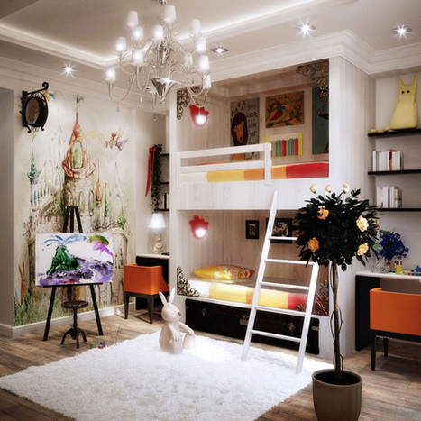 Colourful Kid's Bedroom Designs | Best Home Ideas | All For The Home | Scoop.it