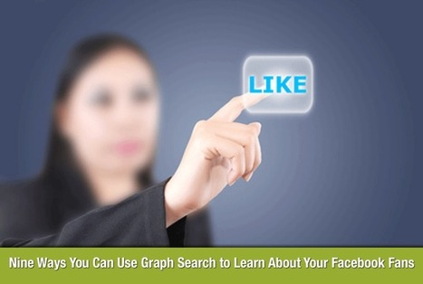 Ten Ways To Use Facebook Graph Search to Learn About Your Facebook Fans (VIDEO) | Using Brain Power in Business | Scoop.it