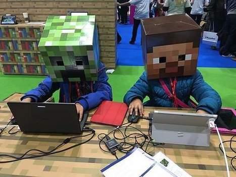 Minecraft en classe : quand le jeu colle parfaitement aux objectifs pédagogiques | Games and education | Scoop.it