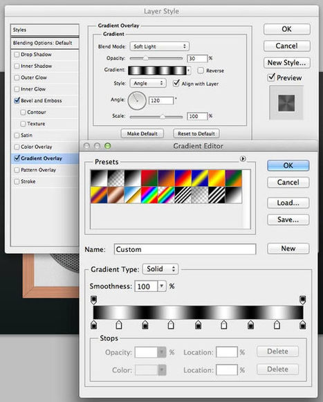 Design a Cool Radio Icon in Photoshop | Psdtuts+ | Digital photography and 3d tutorials | Scoop.it