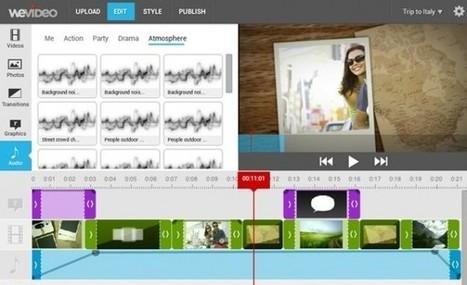 WeVideo nos presenta su nuevo editor de vídeos en la web   EDUCATIC   Scoop.it