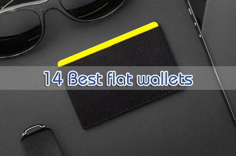 14 Best flat wallets for men and women - Best Wallets 2015 - 2016 | Best bag 2016 | Scoop.it