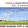 Central Park 3 New Plots Project
