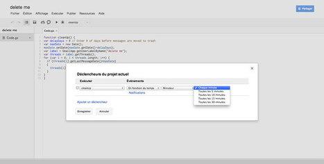 Gmail : supprimer automatiquement des messages après un temps donné [Tuto] | Time to Learn | Scoop.it