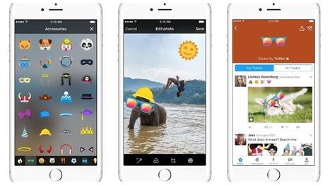 Twitter lance #Stickers pour rendre vos photos encore plus fun - High-Tech - MYTF1News | Pense pas bête : Tourisme, Web, Stratégie numérique et Culture | Scoop.it