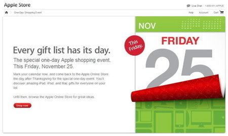 Apple begins teasing Black Friday 2011 event; don't expect huge discounts | All Technology Buzz | Scoop.it