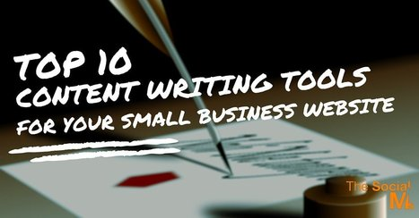 Top 10 Content Writing Tools for Your Small Business Website | Digital Marketing Strategy | Scoop.it