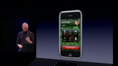 10 years ago, Steve Jobs presented Apple's first iPhone | Au hasard | Scoop.it
