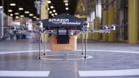 Amazon Unveils Futuristic Drone Delivery Plan | Supply Chain content from IndustryWeek | Sector marketing and economic change | Scoop.it