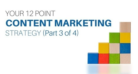 Your 12 Point Content Marketing Strategy (Part 3 of 4) | Content Marketing and Curation for Small Business | Scoop.it