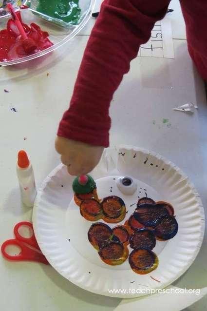 Polka dot painted fish | Teach Preschool | Teach Preschool | Scoop.it