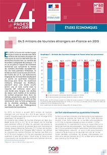 #Statistiques : 84,5 millions de touristes étrangers en France en 2015 (@DGE) | Médias sociaux et tourisme | Scoop.it