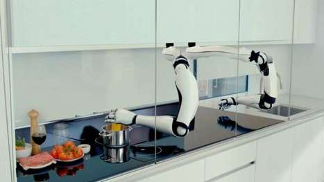 A Pair Of Robot Arms Could Make You Dinner | The Futurecratic Scoop | Scoop.it