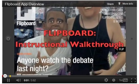Flipboard Application Overview | iPads, MakerEd and More  in Education | Scoop.it
