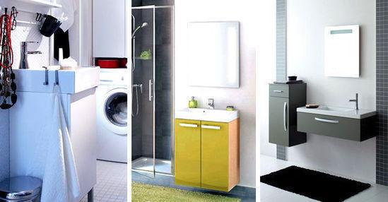 am nager une petite salle de bains les. Black Bedroom Furniture Sets. Home Design Ideas