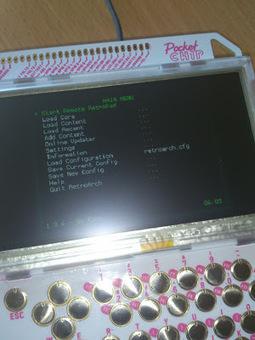 RetroArch sur PocketCHIP c'est possible! | [OH]-NEWS | Scoop.it