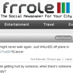 Frrole: Turn Twitter Into Your Own Local Social News Source | Twitter for You | Scoop.it