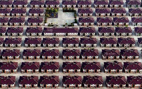 Fantastic set of aerial photos exploring the phenomenon of urbanization in China | Merveilles - Marvels | Scoop.it