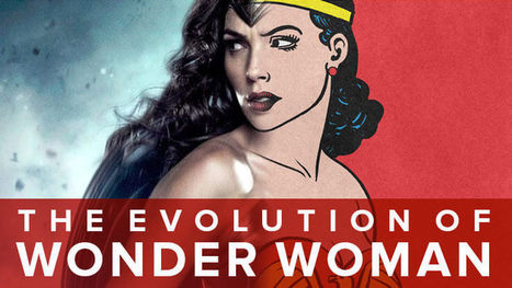 Wonder Woman's Costume Has Changed SO MUCH Since 1941 | Women of The Revolution | Scoop.it