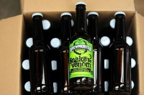 World has new strongest beer | Autour du vin | Scoop.it