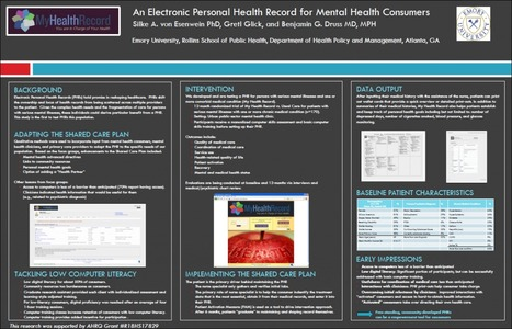 Safety net populations do benefit from online PHRs: poster at ICSI/IHI Colloquium--e-Patient Dave | The New Patient-Doctor e-Relationship | Scoop.it