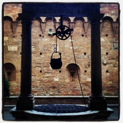 CORTILE PALAZZO CHIGI-SARACINI#athenasiena... | Tuscanygram | Tuscany Storytelling via Instagram | a little bit of italy and web resources | Scoop.it
