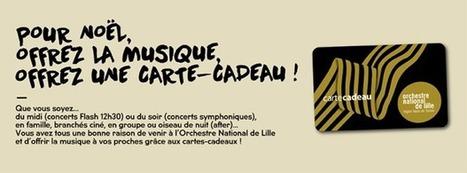 [Lille City Guide] Mes idées cadeaux pour un Noël «made in Lille » ! #2 | orchestre national de lille - Jean-Claude Casadesus | Scoop.it